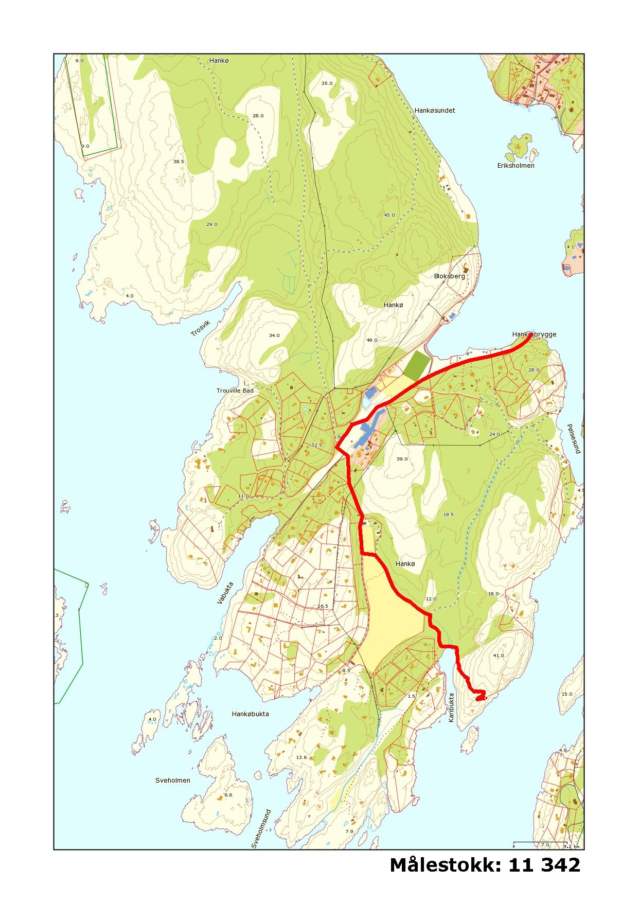 kart over hankø Hankø   Rælingen klatreklubb kart over hankø
